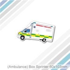Ambulance - Fridge Magnet (60 x 103 mm)